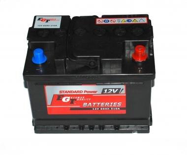 60Ah 480A EGT Akumulators