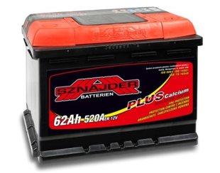 62Ah 520A SZNAJDER Akumulators