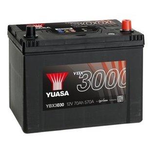 70Ah 570A YUASA Akumulators