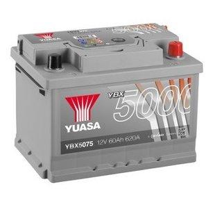 60Ah 620A YUASA Akumulators