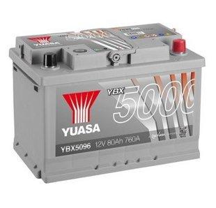 80Ah 760A YUASA Akumulators